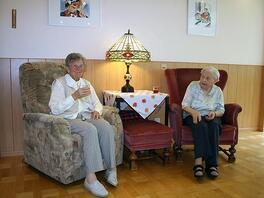 Leben im Alten-Pflegeheim